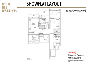 Irwell-hill-residences-2-bedroom-premium-showflat-layout