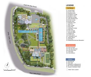 rwell-hill-residences-Site Plan